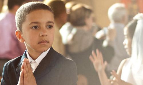 Faith - First Communion Photo